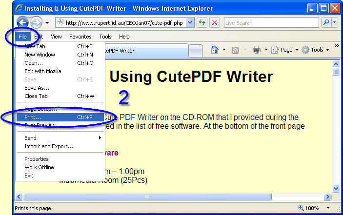 Cutepdf Install Printer Failed Error 17982