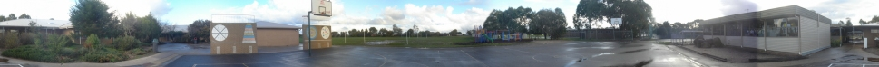 Panorama of Alfredton Primary School by Ryan Oliver