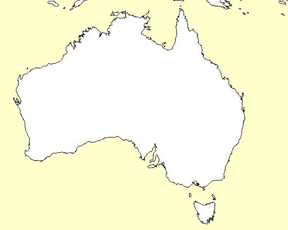 map of the world blank outline. lank outline map of australia