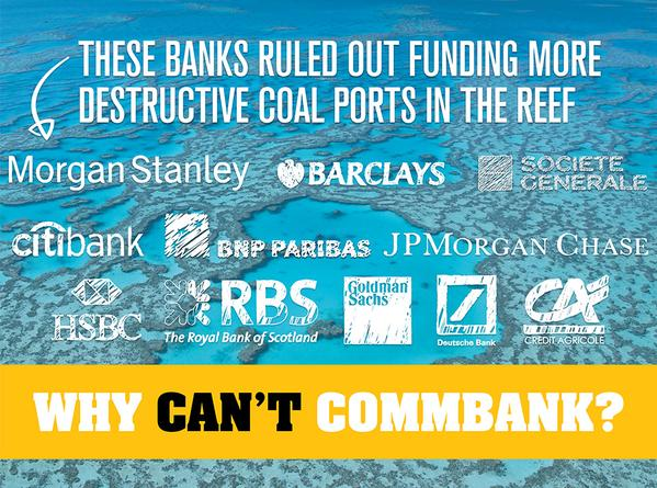 Why Can't Combank save the reef