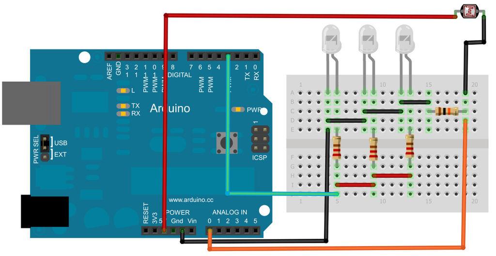 Tutorial 48: Arduino Controlled Night Light